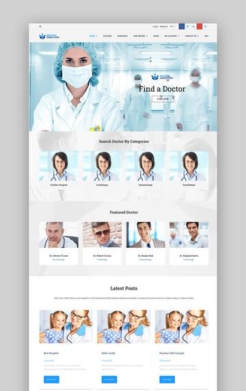 Medical Directory WordPress Theme