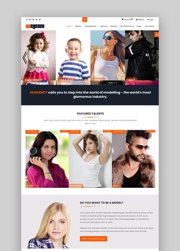 Ssagency Fashion WordPress Theme