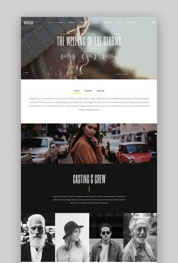 Superflick - An Elegant Video Oriented WordPress Theme