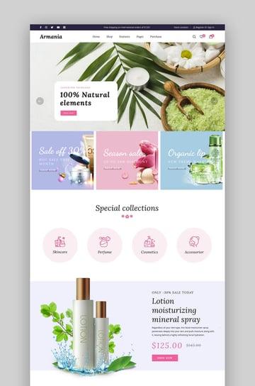 Armania - Fashion, Beauty, Organic Multipurpose Elementor WooCommerce Theme
