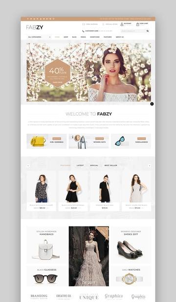 Fabzy - Multipurpose WooCommerce Theme
