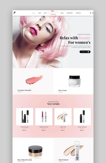 Ordo | Natural Cosmetic WooCommerce WordPress Theme