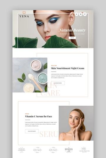 Yena - Beauty WooCommerce WordPress Theme