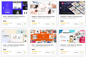 beauty and cosmetics WooCommerce themes