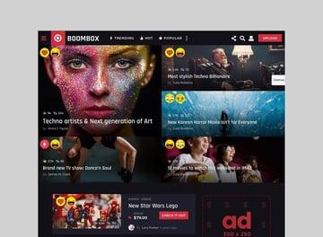 BoomBox - Viral Content WordPress Theme