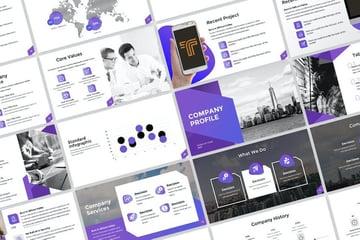 Company Profile Presentation on Envato Elements