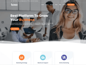 Bosa multipurpose theme