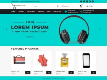 eCommerce Hub - Online Store WordPress Theme