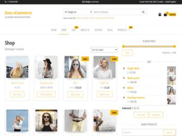 Envo eCommerce - WordPress Theme for Online Store