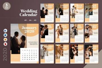 Wedding Calendar
