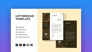 Creative Word Letterhead Template