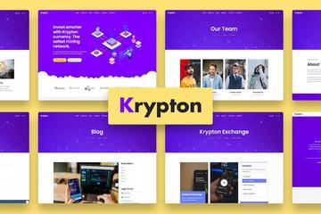 Krypton Joomla CMS template on Envato Elements