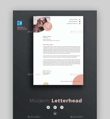 Letterhead Template Word Premium Template