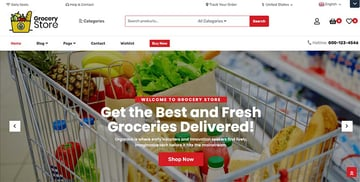 Food Grocery Store WooCommerce Theme