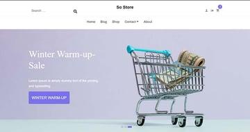 SO Store Modern WooCommerce Theme