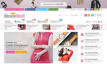 Unos Store Bell WooCommerce Theme