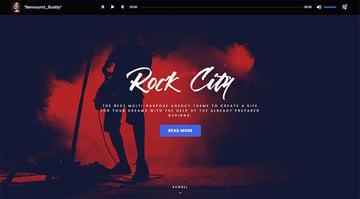 Music Journal WordPress Theme