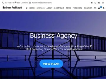 Business Architect WordPress Theme