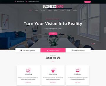 BusinessExpo WordPress Theme