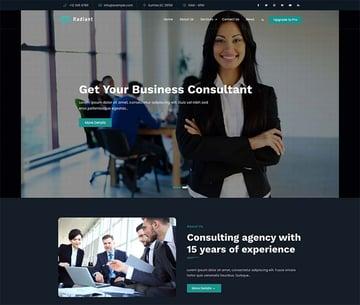 Radiant Business WordPress Theme