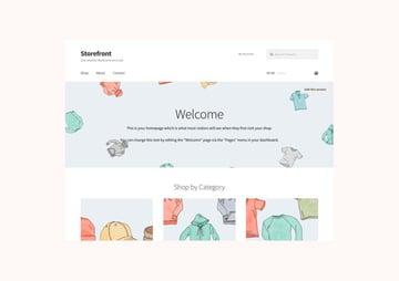 Storefront - FreeWordPress Theme