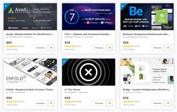 Premium WordPress Themes on ThemeForest