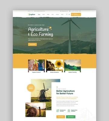 Agrikon - Organic Food WordPress Theme