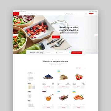 Pome Food Store WordPress Theme