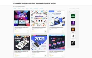 Outer space PPT templates on GraphicRiver