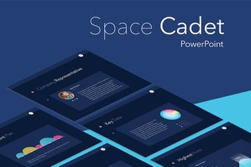Space Cadet PPT template