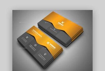 Corporate Business Card Set