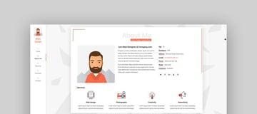 Unique CV Resume Template