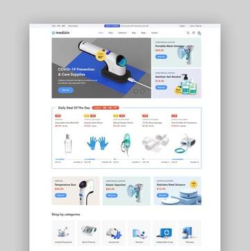 Medizin - Medical Equipment eCommerce Bootstrap 5 Template