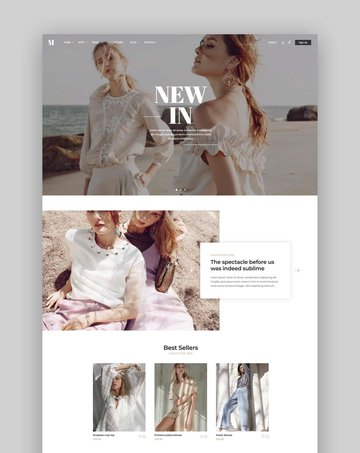 Moren – Fashion eCommerce Bootstrap 5 Template