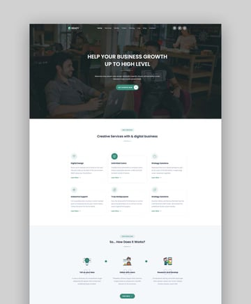 Deazy - Bootstrap Landing Page Template