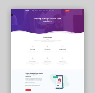 Dorsin - Bootstrap 5 Landing Page Template