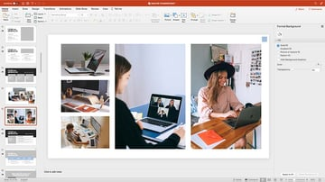 Adjusting the layout of your images