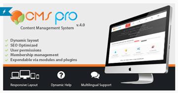 CMS Pro - Content Management System