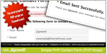 Simple PHP Contact Form