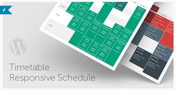 Timetable Responsive Schedule For WordPress