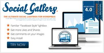 Social Gallery WordPress Photo Viewer Plugin