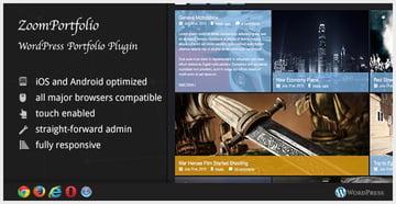 ZoomFolio - WordPress Portfolio Plugin