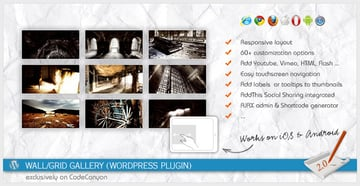 WallGrid Gallery WordPress Plugin