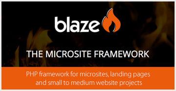 Blaze - PHP Framework for Small to Medium Websites