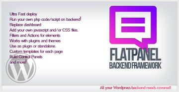 Flatpanel Backend Framework