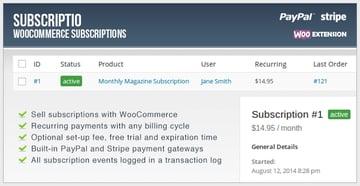 Subscriptio - WooCommerce Subscriptions
