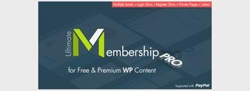 Ultimate Membership Pro WordPress Plugin
