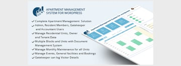 WPAMS - Apartment Management System for WordPress