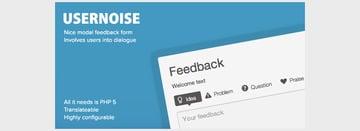 Usernoise Modal Contact Feedback Form