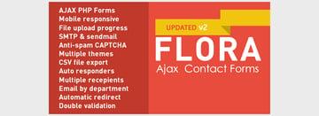 Flora Forms - Responsive Ajax Contact Forms